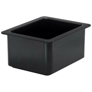 Cambro 26cf110 Cold Food Pan Coldfest Half size Black