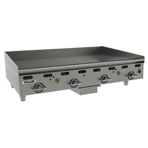 Vulcan Msa48 Commercial Natural Gas Heavy Duty Griddle 48