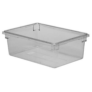 Cambro 182612cw Cambro Food Storage Box Full size 17 Gallon Clear