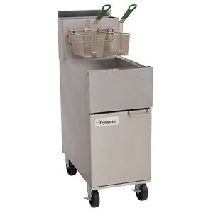 Natural Gas Fryer High Efficiency 35 Lbs Oil Capacity