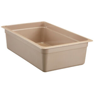 Cambro 16hp150 H pan Hot Food Pan Full size 20 5 8 Quart Amber
