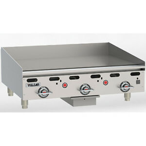 Vulcan Msa36 2 Commercial Griddle Heavy Duty Lp Gas 36 w