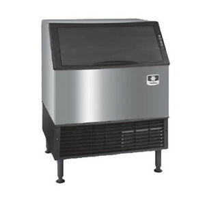 Neo Undercounter Ice Machine Air Cooled 310 Lbs Production Half Dice 120v