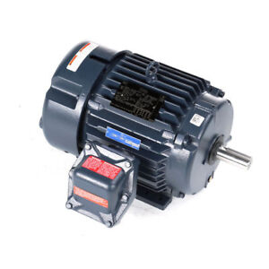 Leeson 825089 00 7 1 2 Hp 1800 Rpm Explosion Proof Electric Motor 3 ph 230 460