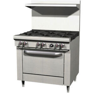 Exclusive 36 6 Burner Range Lp Gas