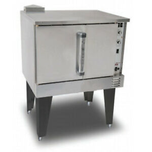 Value Series Natural Gas Convection Oven Single Stack