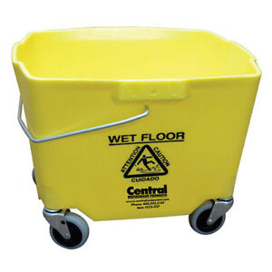 Central Exclusive 2635 3y 970 Mop Bucket 35 Qt 14 d Yellow