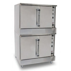 Value Series Natural Gas Convection Oven Double Stack