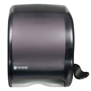 San Jamar T950tbk Element Lever Roll Towel Dispenser Black