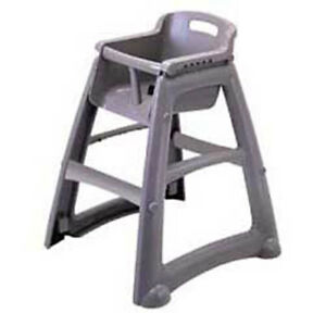 Rubbermaid Sturdy Chair Youth Seat With Microban Plastic Without Casters