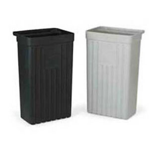 Vollrath 97288 20 Trash Bin For Stainless Steel Utility Carts Gray