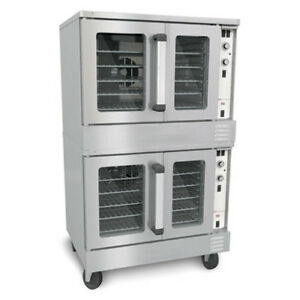 Central Exclusive By Southbend Double Stack Lp Gas Convection Oven
