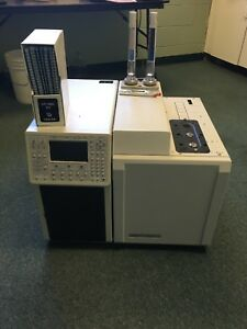 Varian Cp 3800 Laboratory Gc Gas Chromatograph Powers Up For Parts Or Repair