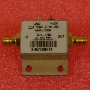 Mini Circuits Zjl 4hg Amplifier 20 4000mhz 12v