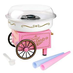 Commercial Cotton Candy Machine Maker Free Kids Party Carnival Home Sugar