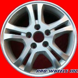Honda Accord 2006 2007 16 Machined Silver Original Oem Wheel Rim 63907 A
