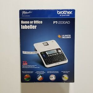 Brother P touch Desktop Labeler Pt 2030ad New In Box