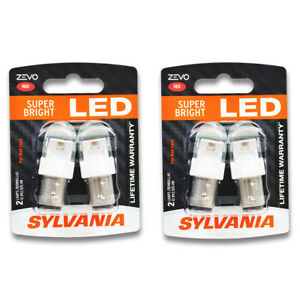 Sylvania Zevo Two 2 Packs 2357rled Led Bulb Center High Mount Stop Brake Oq