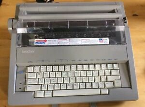 Brother Gx 7500 Correcting Electronic Typewriter Daisy Wheel Tested