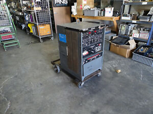 Lincoln Square Wave Tig 300 Ac dc Stick Arc Welder W High Freq Stabilization