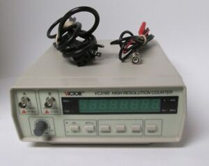 Victor Vc3165 High Resolution Frequency Counter Rf Meter With Probe