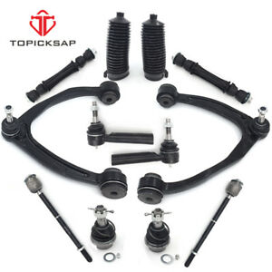 For 2007 2014 Chevy Gmc 1500 Control Arm Ball Joint Tie Rod Boots Sway Bar Link