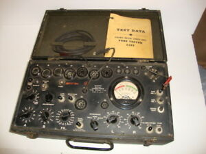 Ww2 1 177 Mutual Conductance Military Tube Tester 1944