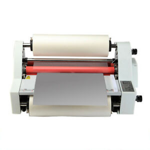 17 digital Display Hot Cold Roll Laminator Single dual Sided Laminating Machine