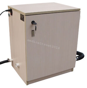 1500l min Medical Dental Wooden Box Vacuum Suction System For 5 Treatment Units