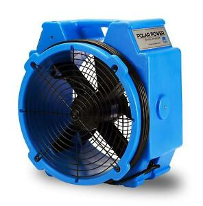 B air Pb 25 1 4 Hp Polar Axial Fan High Velocity Air Mover For Water Damage Rest