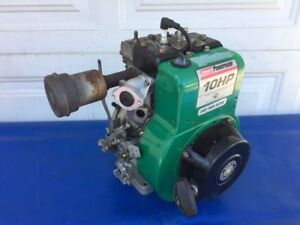 10hp Briggs Strattonn Coleman Powermate Horizontal Generator Pump Etc Engine