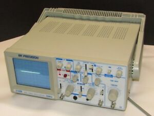 Bk Precision 2120b Oscilloscope 30mhz Dual trace 2 channel Analog Tested