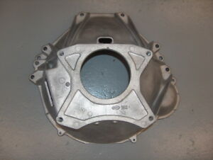 1975 76 Ford Mustang Ii Granada F 150 Aluminum 4 Speed Bell Housing D5da 6394 Ab