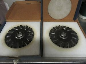 R71 Staggered Tooth Side Mill 7 X 1 Set Of 2 Niagara Cutter Sharp