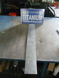 Titanium Plate 6al 4v 078 Thickness 3 375 X 24 32 As 18 Pcs