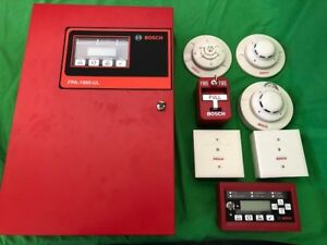 Bosch Fpa 1000 ul Addressable Analog Fire Panel System Kit Devices Included