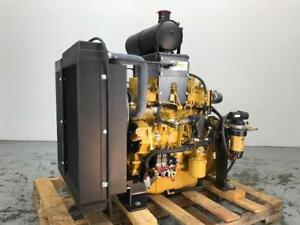 Cat C3 4b Diesel Engine 63 Hp All Complete And Run Tested