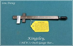 Kingsley Machine 7 inch Gauge Bar Hot Foil Stamping Machine