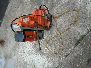 Alfra Mag Drill Magnetic Rail Drilling Machine Heavy Duty