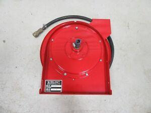 Reelcraft 3 8 X 20 Retractable Air Hose Reel 4620 Usa Made Free Shipping