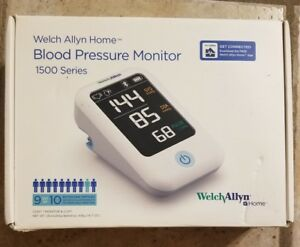 Welch Allyn Home 1500 Blood Pressure Monitor H bp100 Smartphone Connectivity