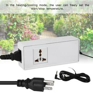 2000w 240v 10a Temperature Controller Thermostat Heating Cooling Control Switch