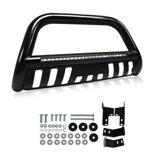 Led Bull Bar For 05 15 Toyota Tacoma Bumper Grille Guard Integrated 72w Light
