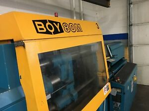 Boy 80 M Plastic Injection Molding Press