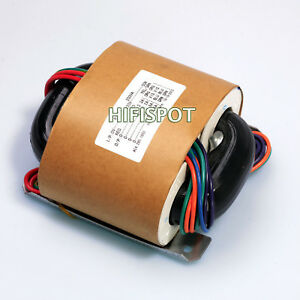 200w R core Transformer For Audio Amplifier Power Amp Selectable Input Outputs