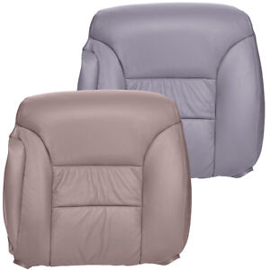 1996 1999 Chevy gmc Truck And Suv Front Bucket Driver Top Leather Seat Cover
