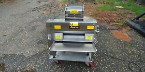 Used Anets Sdr 21 Double Pass Dough Roller Sheeter Anet s