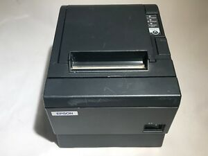 Epson Tm t88iii M129c Pos Thermal Kitchen Receipt Printer Serial No Cables