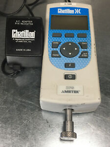 Chatillon Dfs 200 Digital Force Gauge W Integral Load Cell Ametek