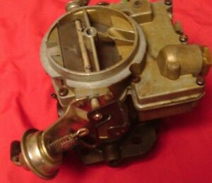1971 Chevy C20 C30 Truck Rochester Carburetor Big 2 Barrel Farm Truck Carb